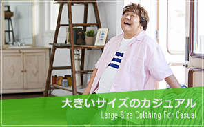 Large size clothing for casual (over 3L)