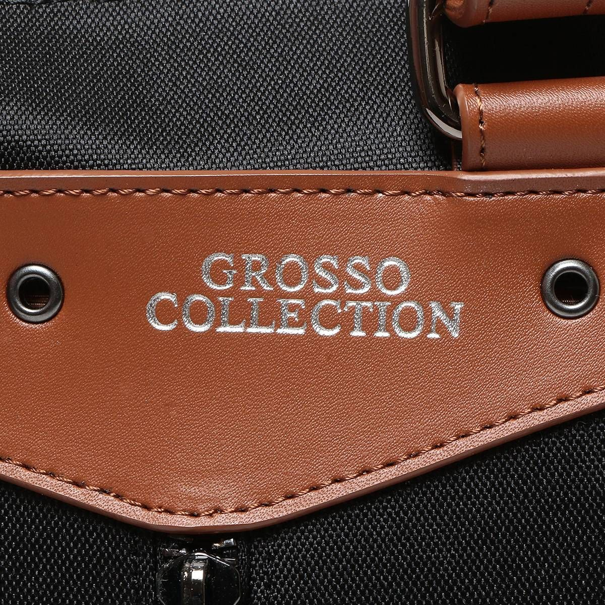 GROSSO COLLECTION (グロッソコレクション) 定期ホルダー付き 多機能 トートバッグ